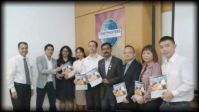 Kampong Ubi Toastmasters Club Executive Committee 2014-2015