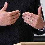 public speaking hand gestures